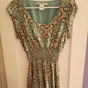 Geometric Funky Print Dress